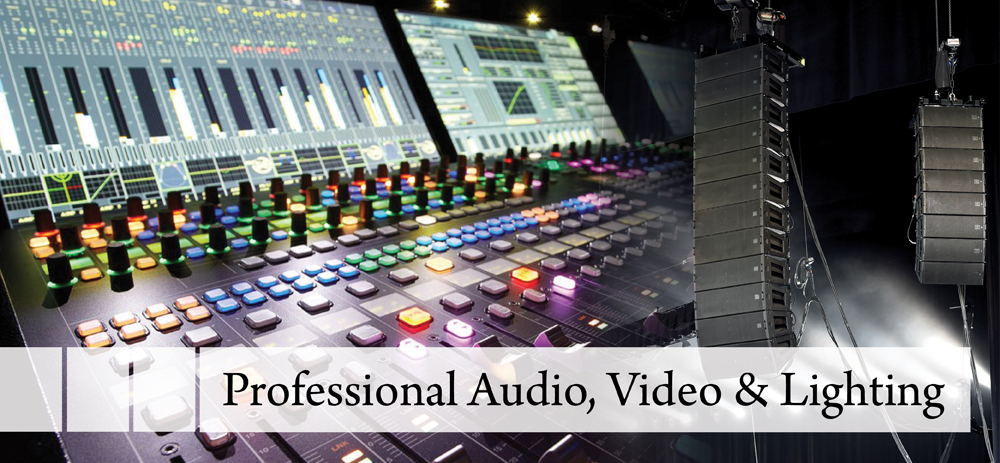 Professional Audio Video & Lighting