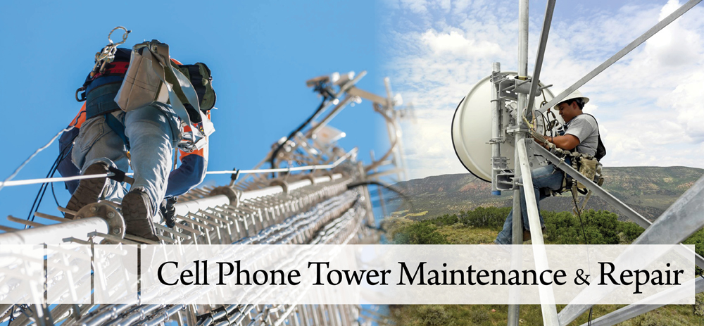 Cell Phone Tower Maintenance and Repair