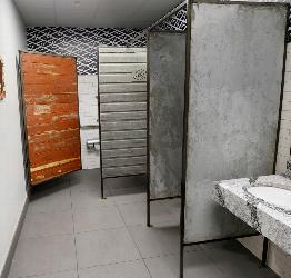 Look's Marketplace Custom Wood, Metal & Concrete Bathroom Stall